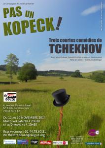 Visuel - Pas un Kopeck - theatre douze
